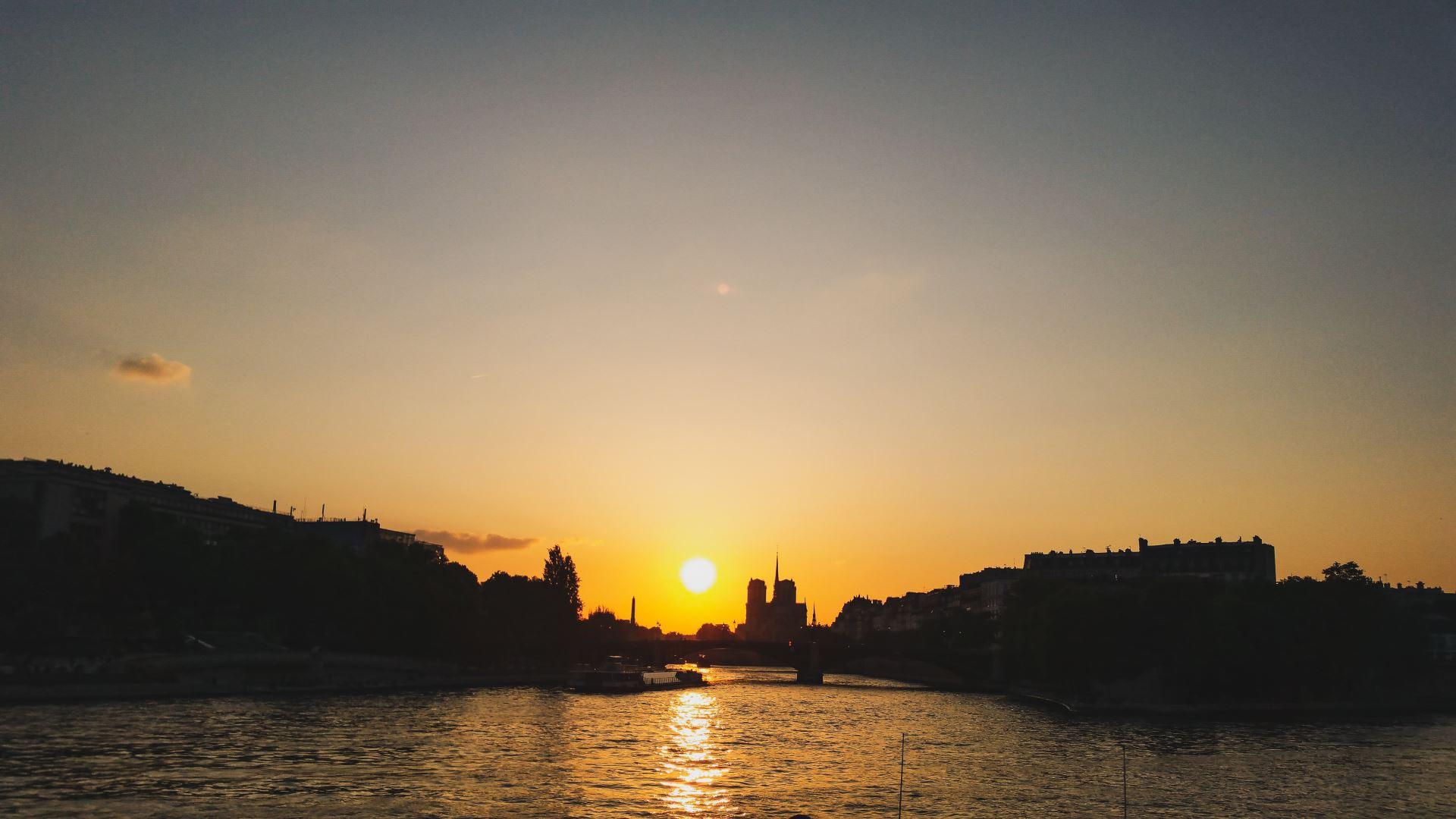 Bootsfahrt Seine - Heiratsantrag in Paris