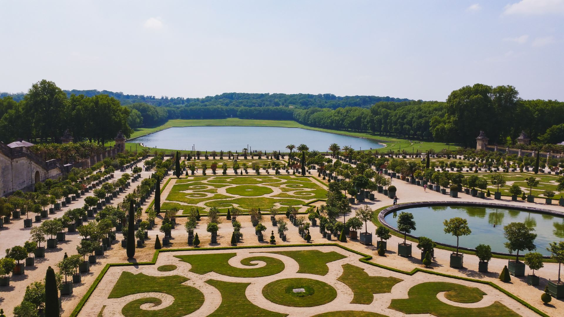 Versailles-Garten - Heiratsantrag in Paris